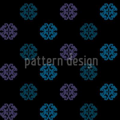 Perhaps Black Seamless Pattern