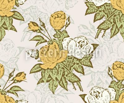 Rose Cavalier Vector Ornament