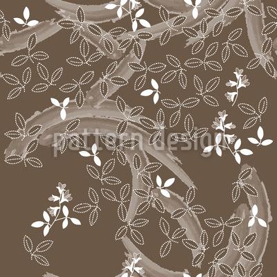 Buschklee Brown Vector Ornament