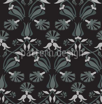 Tulpen und Nelken Muster Design