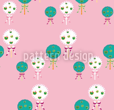 Shake Me Rose Vector Ornament