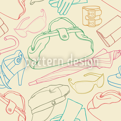 Sketch Clothes Illustrations Pattern Design