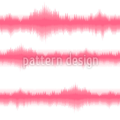 Batik Stripes Pink Seamless Pattern