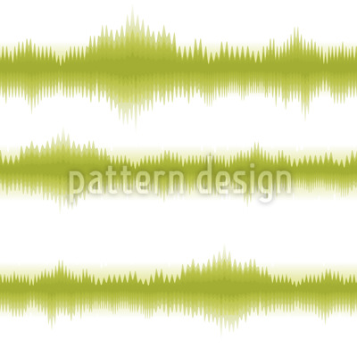 Batik Stripes Green Vector Pattern