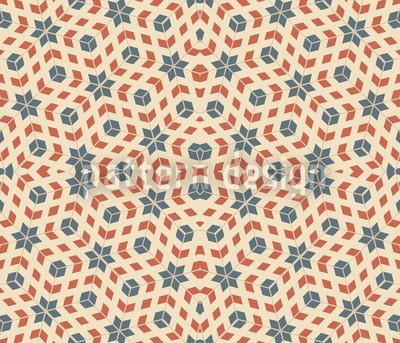 Sternen Symmetrie Rapportiertes Design