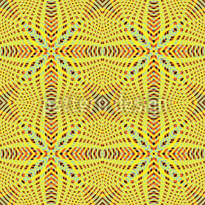 Abstraktes Gitter Nahtloses Vektor Muster
