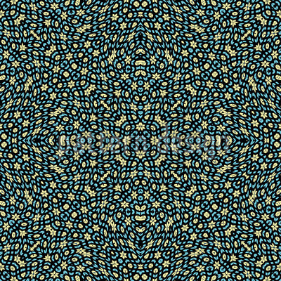 Kaleidoscope Gardens Vector Design