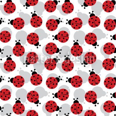 Beetlemania Vector Pattern