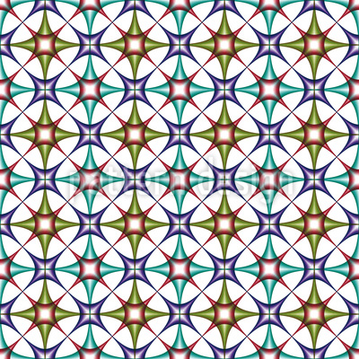 Art Deco Arabic Design Pattern