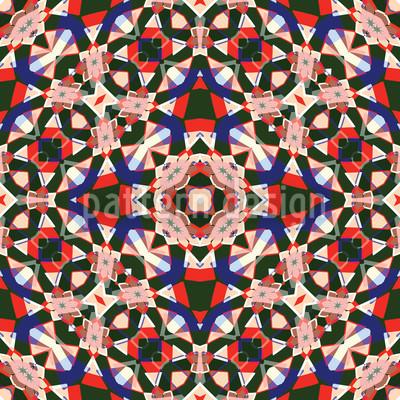 Kaleidoskop Rapportiertes Design