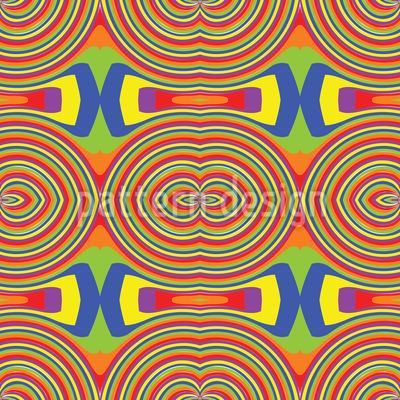 Regenbogen Vektor Muster