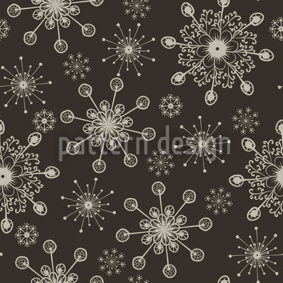 Light And Flaky Seamless Pattern