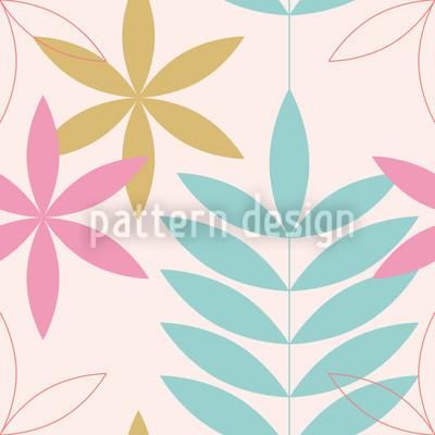 Encore Floral Pastel Vector Ornament
