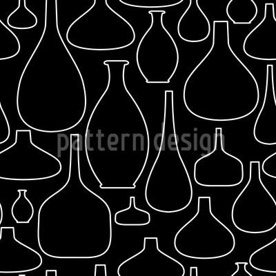 Empty Bottles Repeat Pattern