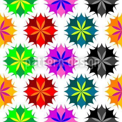 Rosetta Color Pattern Design