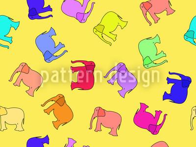 Elefanta Repeating Pattern
