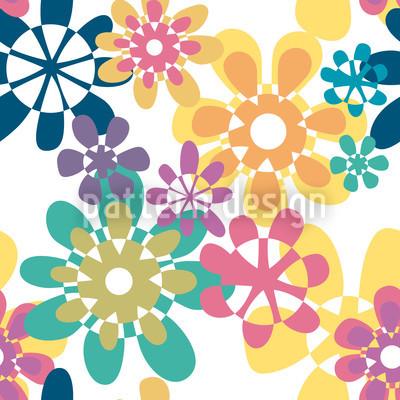 Glori Flori Color Vector Pattern