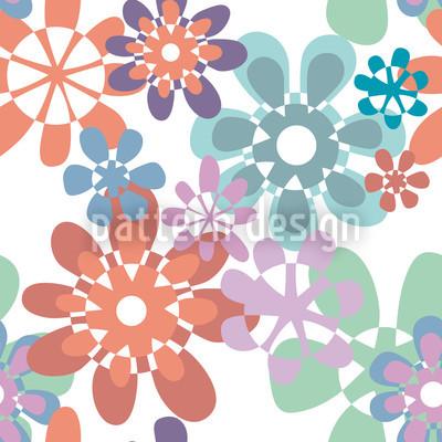 Gloria Flori Pastell Vektor Design