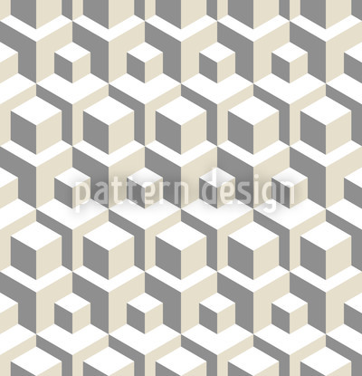 Manhattan Transfer Grey Repeat Pattern