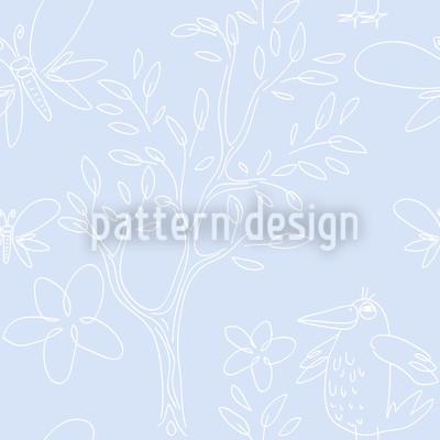 Kristall Naiv Muster Design