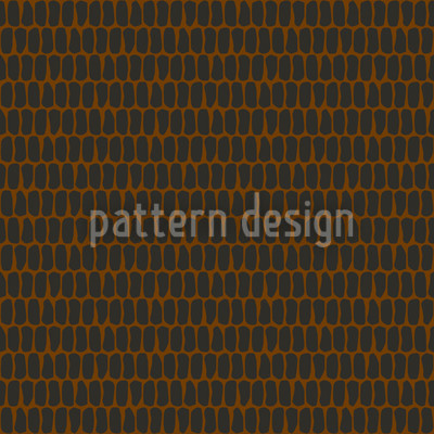 Scale Skin Brown Repeat Pattern