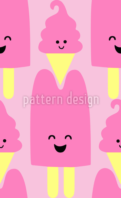 Ice Ice Babies Vector Pattern