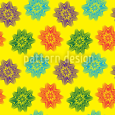 Sparkler Seamless Vector Pattern