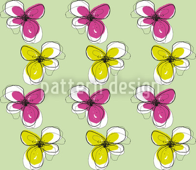 Violas Repeat Pattern