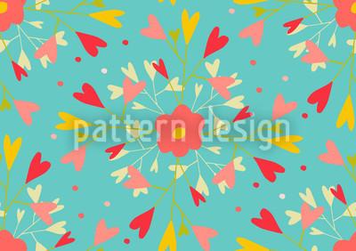 She Loves Me Pattern Design