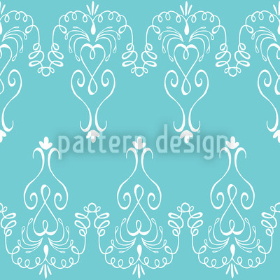 Madame Pompadour Vector Ornament