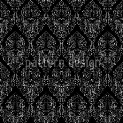 Damask Texture Vector Design