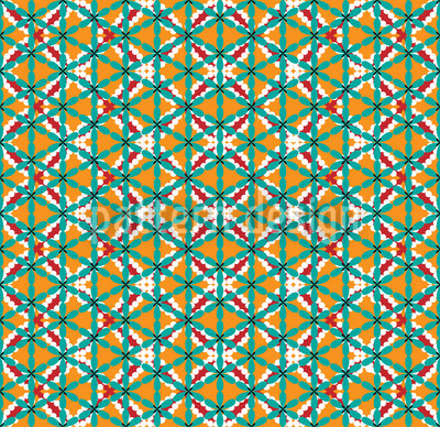 Chunri Decor Seamless Pattern