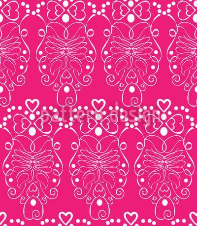 Romanze In Pink Musterdesign