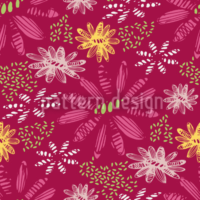 Nula Fucsia Repeat Pattern