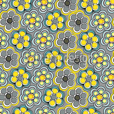 Yellow Express Repeating Pattern