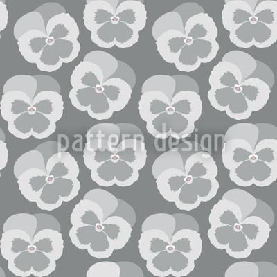 Violetta Grey Vector Pattern