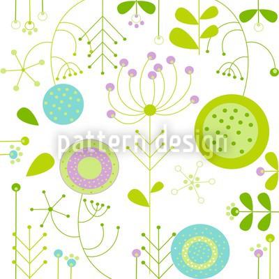 Liljana Pastell Vektor Muster