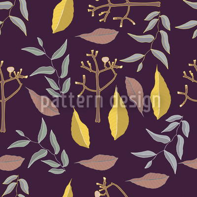 Gold And Silver Vector Pattern