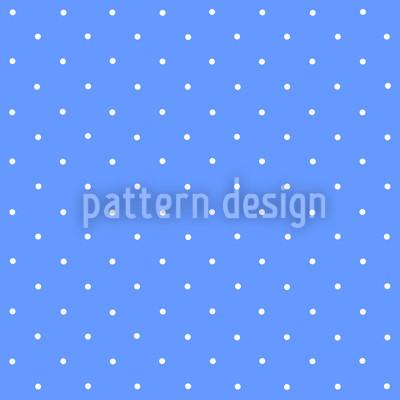 Pünktchen Auf Blau Rapportiertes Design