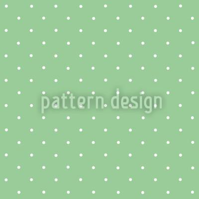 Pünktchen Auf Grün Muster Design