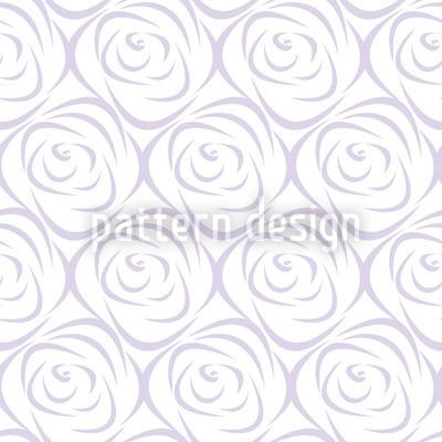 Rosabella Purple Repeating Pattern