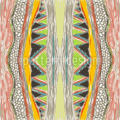 Massai Bunt Musterdesign