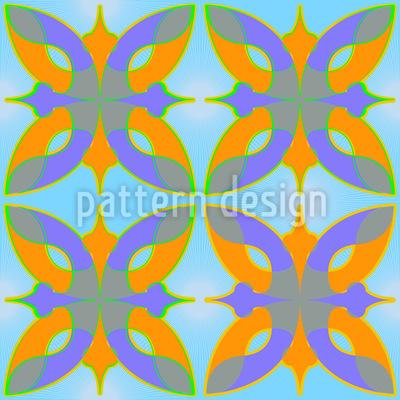 Dschingis Khan Seamless Vector Pattern