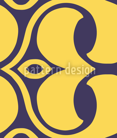 Infinite Loop Seamless Pattern