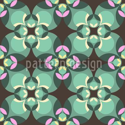 Esmeralda Grün Vektor Muster