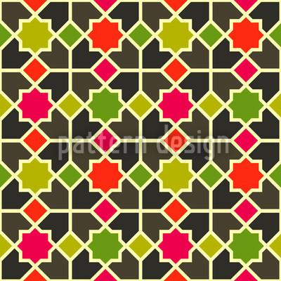 Marokko Color Musterdesign