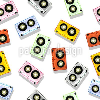 Kassettendeck Vektor Design
