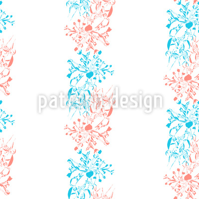 Early Bloomers Vector Ornament