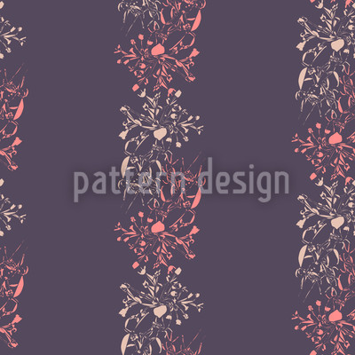 Late Bloomers Seamless Vector Pattern