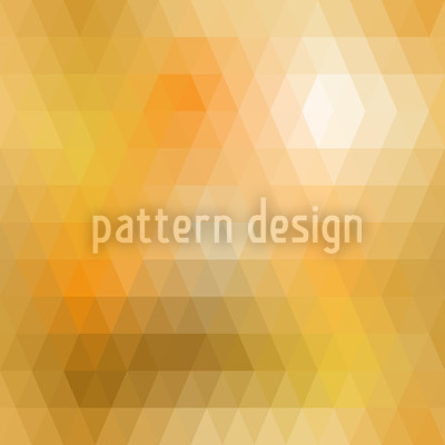 Disco Gold Seamless Vector Pattern